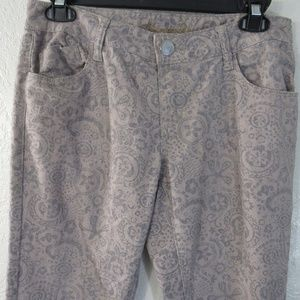 American Rag Cie Skinny Jeans Sz 7R Boho Design